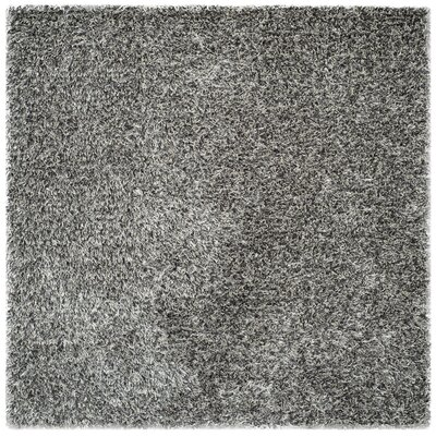 Cheevers Platinum/Ivory Area Rug Rug Size: Square 7