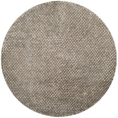 Maya Silver Rug Rug Size: Round 6