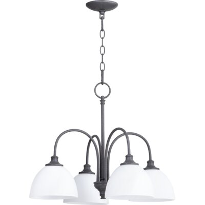 Dian 4-Light Shaded Metal Chandelier