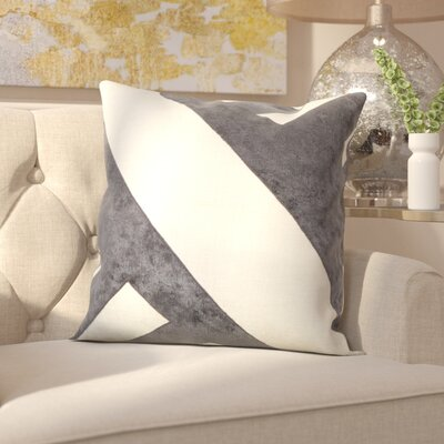 Milton Keynes Throw Pillow Color: Charcoal
