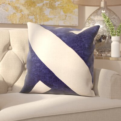 Milton Keynes Throw Pillow Color: Navy