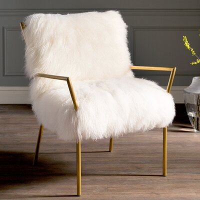 Paget Sheepskin Arm Chair