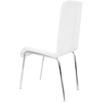 Emerystone Side Chair Upholstery: White