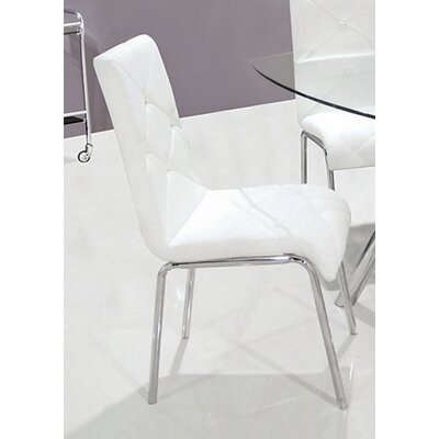 Emerystone Upholstered Side Chair Upholstery: White