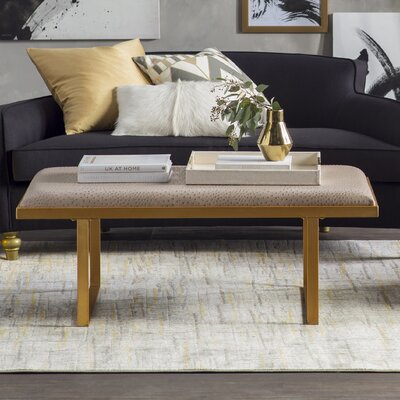 Richard Coffee Table Top Finish: Taupe