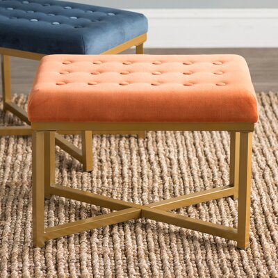 Hansen Rectangular Ottoman Upholstery Color: Tuscany