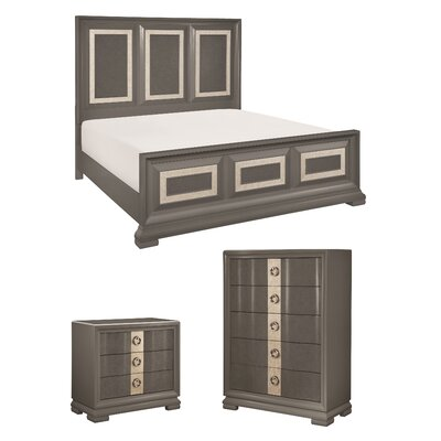 Recinos Panel Customizable Bedroom Set