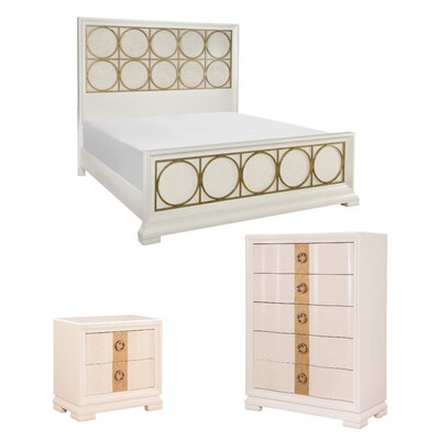 Rogers Platform Customizable Wood Bedroom Set