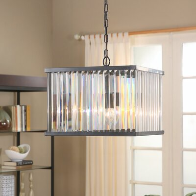 Overton 4-Light Crystal Chandelier