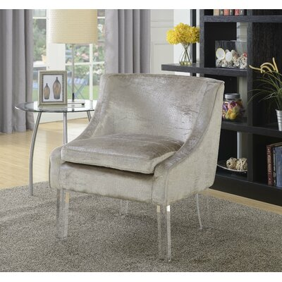 Olivet Accent Club Chair Upholstery: Beige