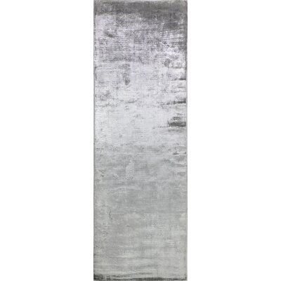Downs Oyster Area Rug Rug Size: Runner 26 x 8