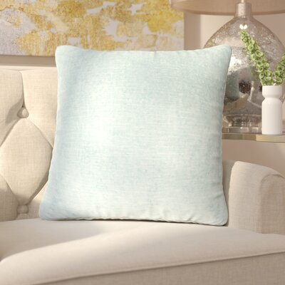 Capucina Solid Throw Pillow Color: Grey