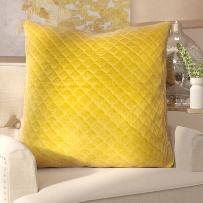 Rencher Throw Pillow Color: Gold