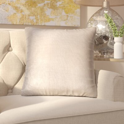Chantae 100% Cotton Throw Pillow Color: Gray