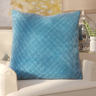 Rencher Throw Pillow Color: Blue