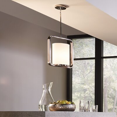 Padmore 1-Light Pendant Finish: Polished Nickel