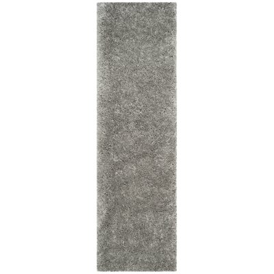 Bayldon Silver Area Rug Rug Size: Runner 23 x 8