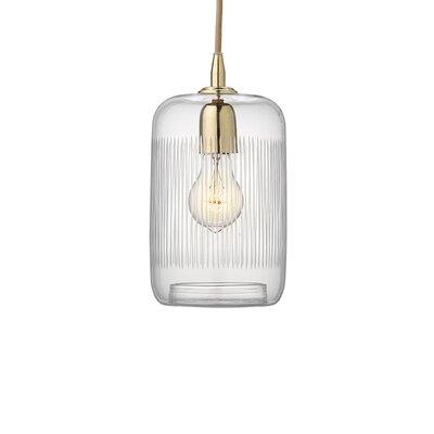 Duras 1-Light Mini Pendant Finish: Brass