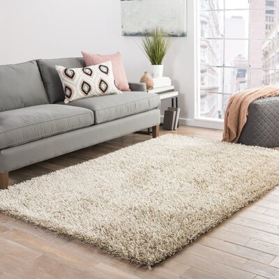 Woodside Taupe Shag Area Rug Rug Size: Rectangle 2 x 3