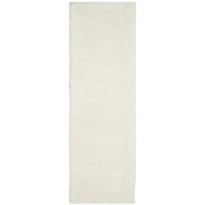 Oriana Creme Area Rug Rug Size: Runner 23 x 7