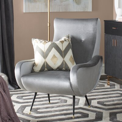 Naya Armchair Upholstery: Light Gray