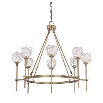Hawkins 8-Light Shaded Chandelier