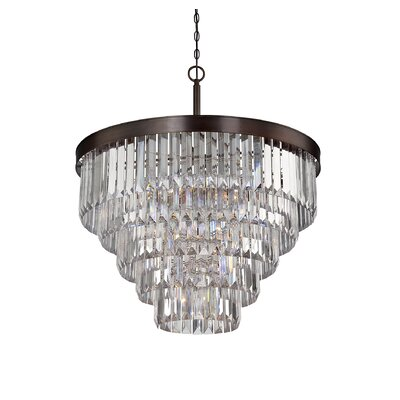 Dyanna 9-Light Crystal Chandelier