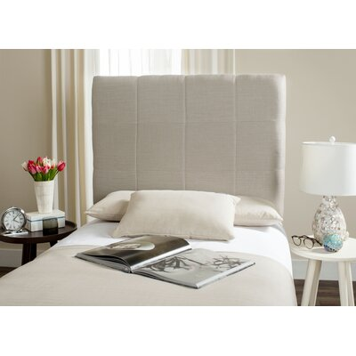 Muni Upholstered Panel Headboard Size: Twin