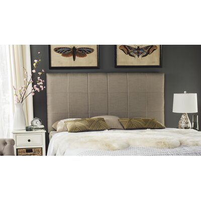 Muni Upholstered Panel Headboard Size: Queen