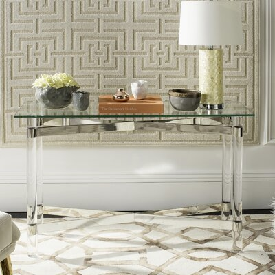 Beecher  Console Table Finish: Silver
