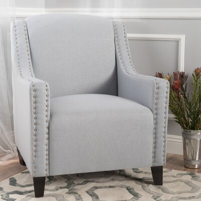 Connolly Armchair Upholstery: Light Gray
