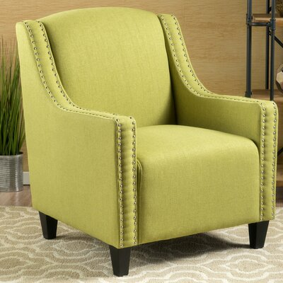 Connolly Armchair Upholstery: Green