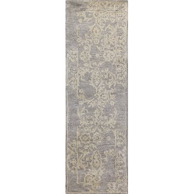 Hull Hand-Tufted Taupe Area Rug Size: Runner 26 x 8