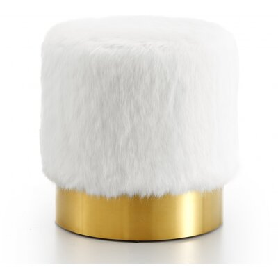 Martin Pouf Upholstery: White