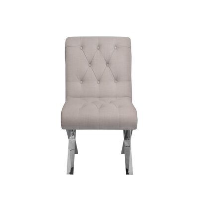 Winchester Side Chair Upholstery: Beige