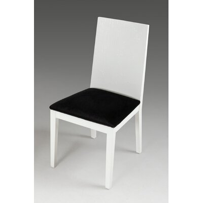 Felix Side Chair Frame Color: White