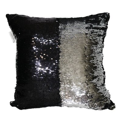 Barnard Sequin Throw Pillow Color: Purple
