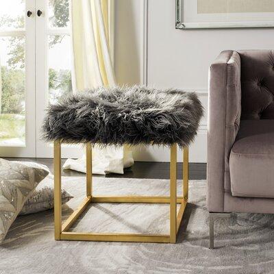 Havilland Ottoman Upholstery: Gray