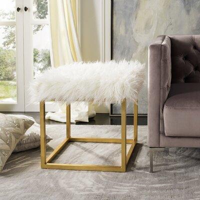 Havilland Ottoman Upholstery: White
