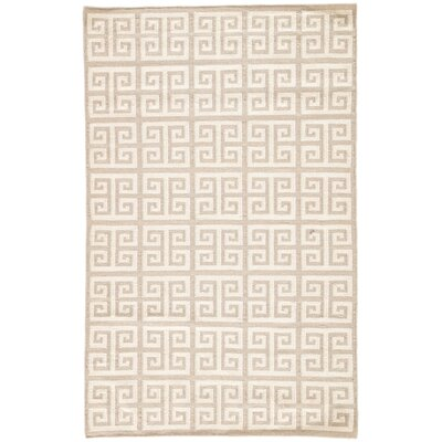 Ginger Inky Sea Geometric Area Rug Rug Size: Rectangle 9 x 12