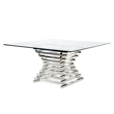 Kamm Counter Height Dining Table Size: 59 L x 59 W x 30 H