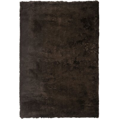 Stellan Flokati Chocolate Outdoor Area Rug Rug Size: Rectangle 6 x 9