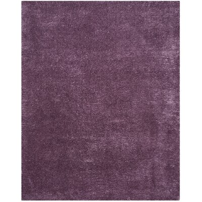 Zirconia Purple Area Rug Rug Size: Rectangle 8 x 10