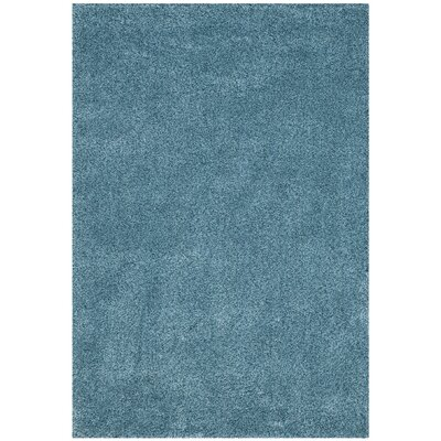 Demonte Shag Turquoise Area Rug Rug Size: Rectangle 53 x 76