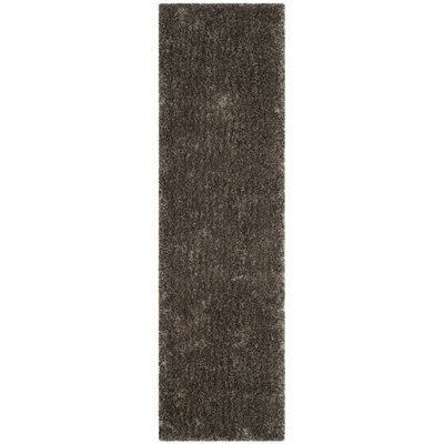 Chapman Hand-Tufted Brown Area Rug Rug Size: Runner 23 x 8