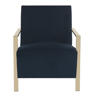 Askham Armchair Upholstery: Navy