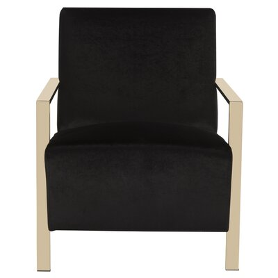 Askham Armchair Upholstery: Black