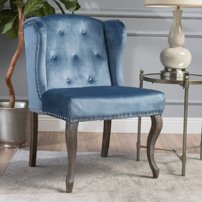 Hollange New Velvet Wingback Chair