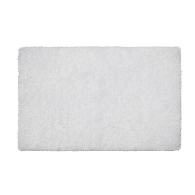 Nasim White Area Rug Rug Size: Rectangle 23 x 39