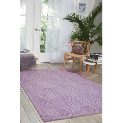 Jemma Hand-Tufted Lavender Area Rug Rug Size: Rectangle 5 x 76